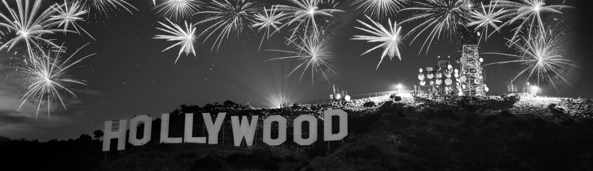Hollywood style New Years Eve!