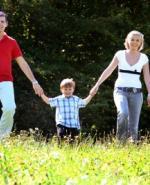Familie August langes Wochenende