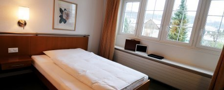 Budget double room with small double bed