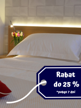 Long stay offer - min. 2 days stay - until 26.04.2019