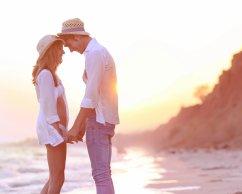 Romantischer Aufenthalt am Meer