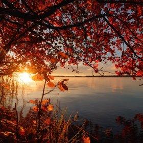 Złota jesień na Mazurach