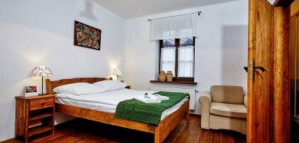 Pokój 2-osobowy w Wozowni - z łożem małżeńskim