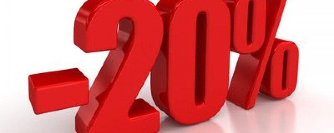 TANI MARZEC - Rabat  20%