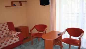 Pokój 2-os. Delfin (bez balkonu)