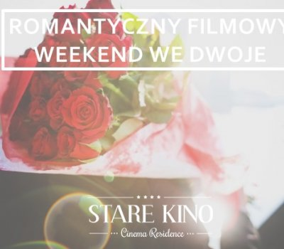 Romantic, film weekend for two