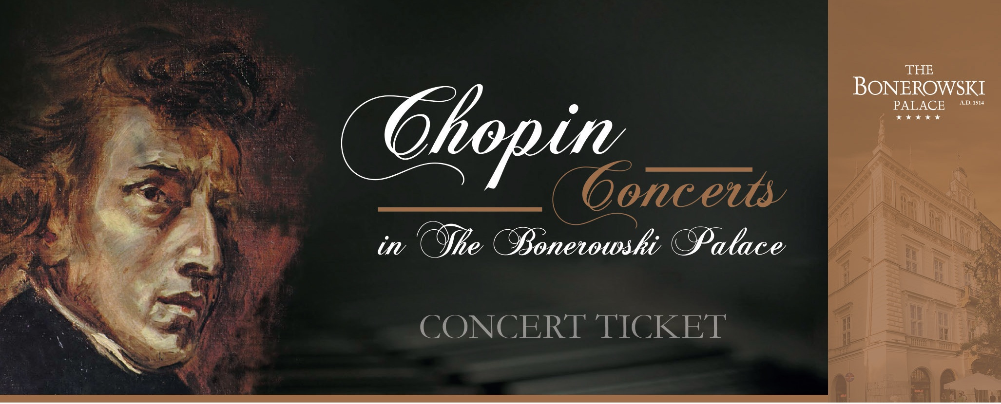 Breakfast&Chopin concert ticket included