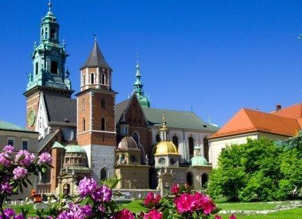 Krakow at blossom at The Bonerowski Palace
