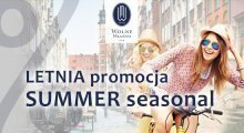 Summer in Gdansk get min 15% off welcome rate