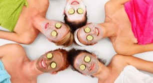 Freundinnen in SPA