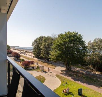 Seaside Park Apartment 11- frontowy widok na morze