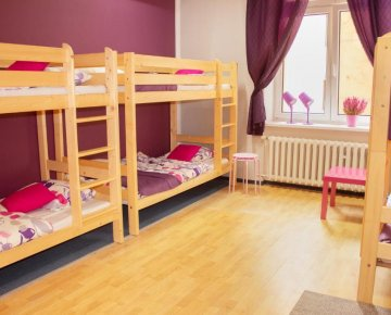 Six-bed room - Absynt Hostel
