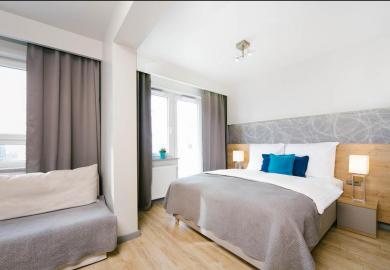 Apartament komfort z balkonem
