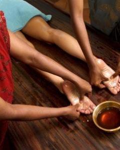 Die hinduistische Padabhyanga Massage 30 min.