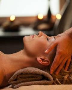 Die hinduistische Ayurveda Mukabhanga Massage 30 min.