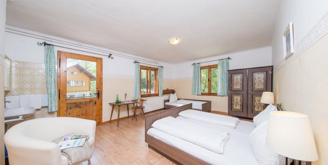 Zimmer Dreibettzimmer Standard