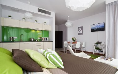 Apartament Comfort z tarasem
