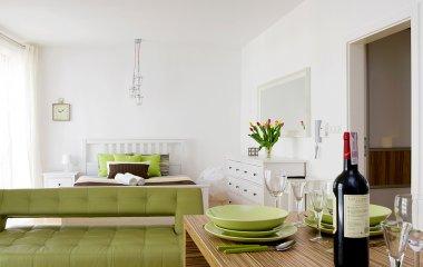 Apartament Comfort z widokiem na ogród