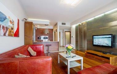 Apartament z wanną z hydromasażem