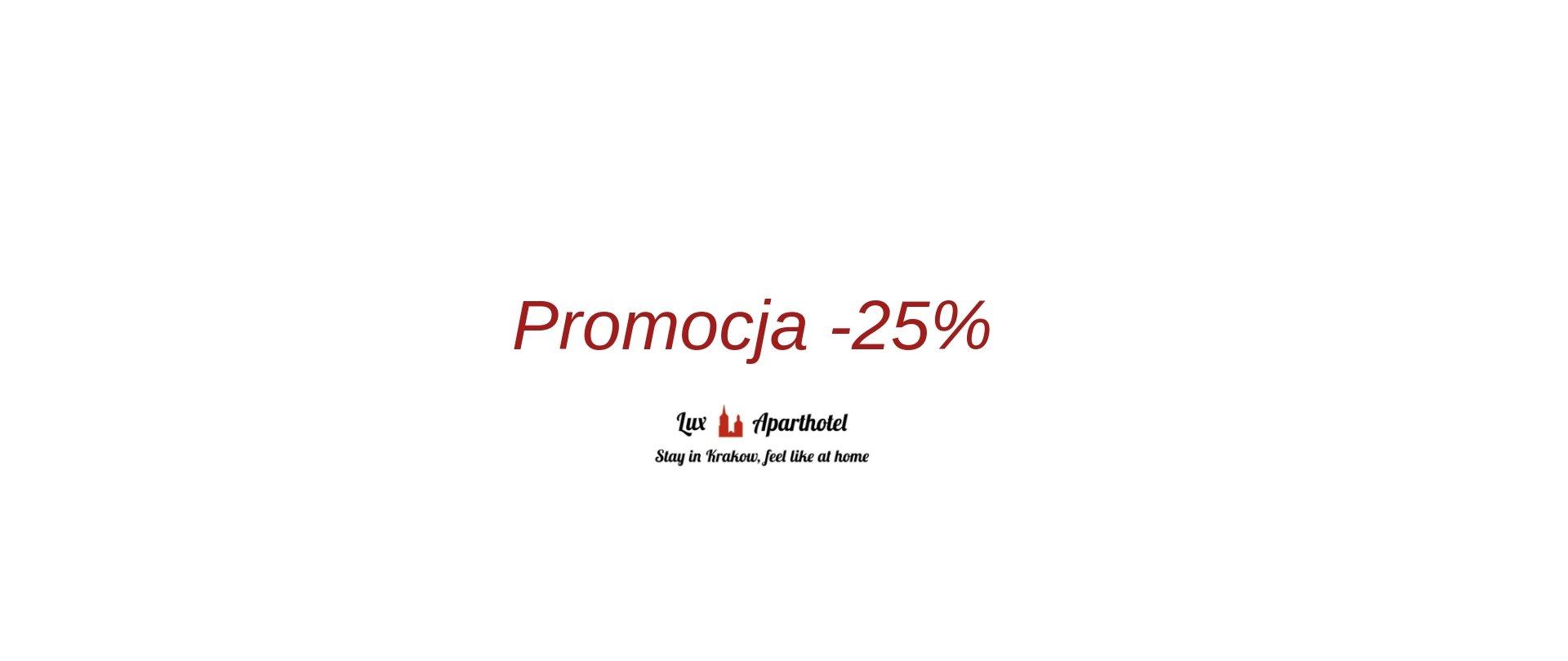 -25% discount min. 5 nights