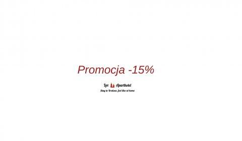 Promocja -15% min. 2 dni