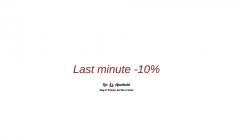Last Minute -10%