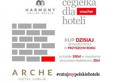 Cegiełka dla Arche Hotel Lublin