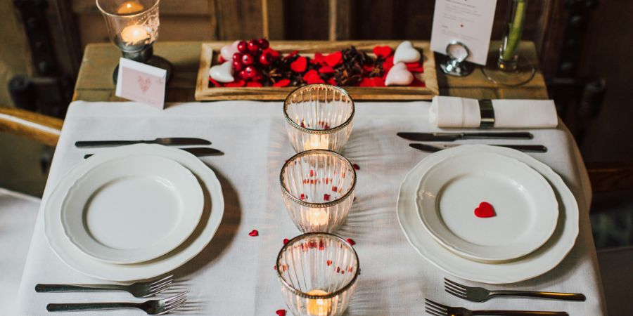 Verlobung im Art Restaurant