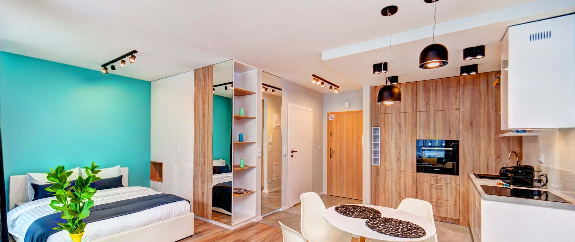 Studio type apartment with terrace (54)