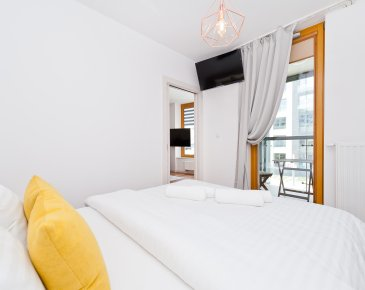 Apartament czteroosobowy z 1 sypialnią (46)