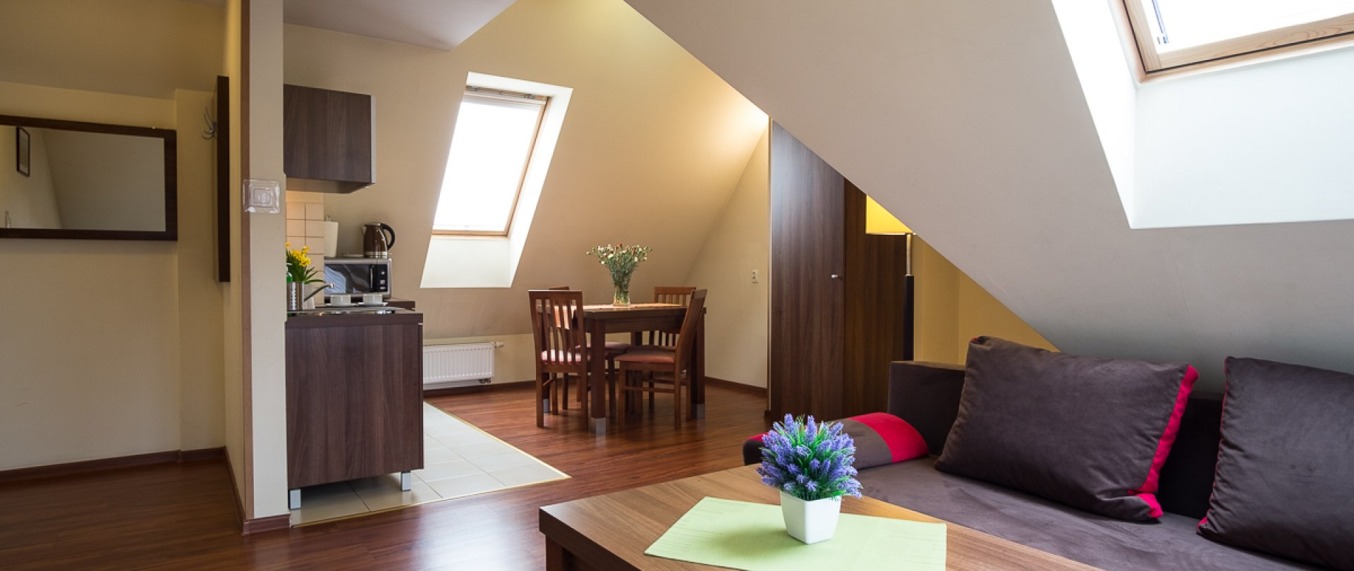 Apartament z jedną sypialnią TWIN