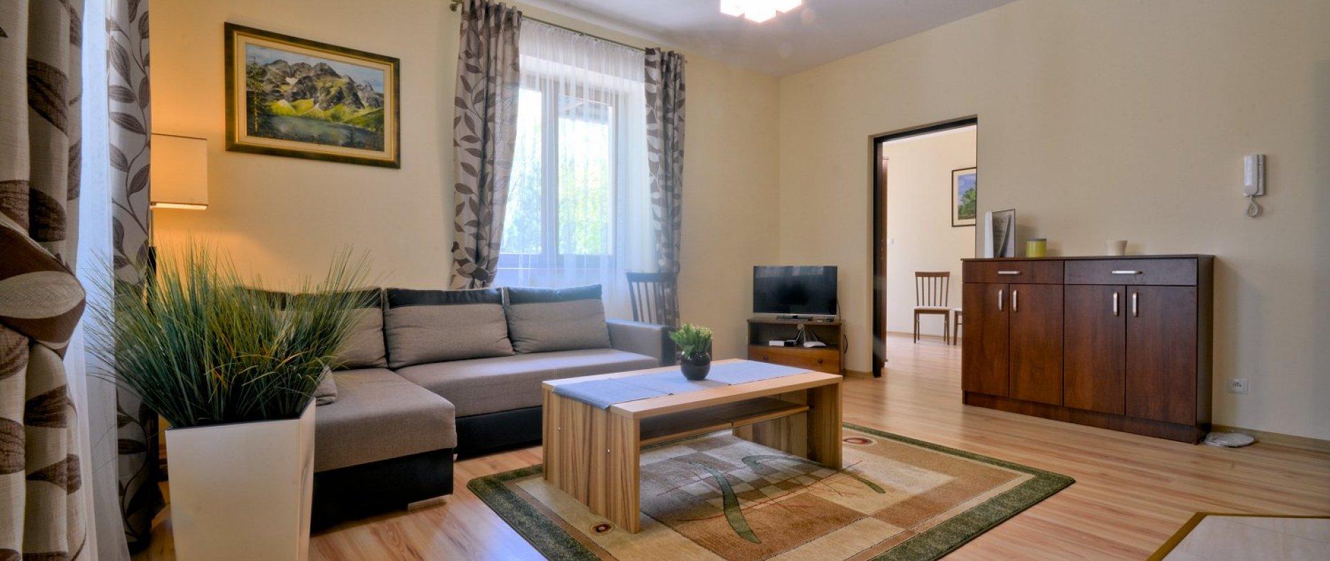 Apartament z jedną sypialnią DBL