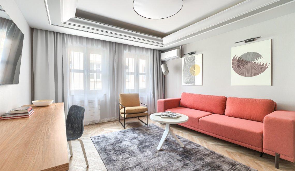 Vierbettzimmer Appartement Deluxe