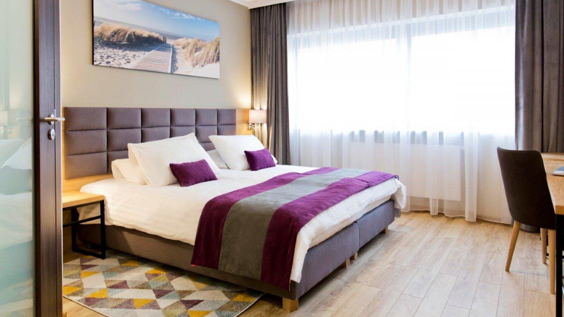 Pokój 1 osobowy z dużym łóżkiem
