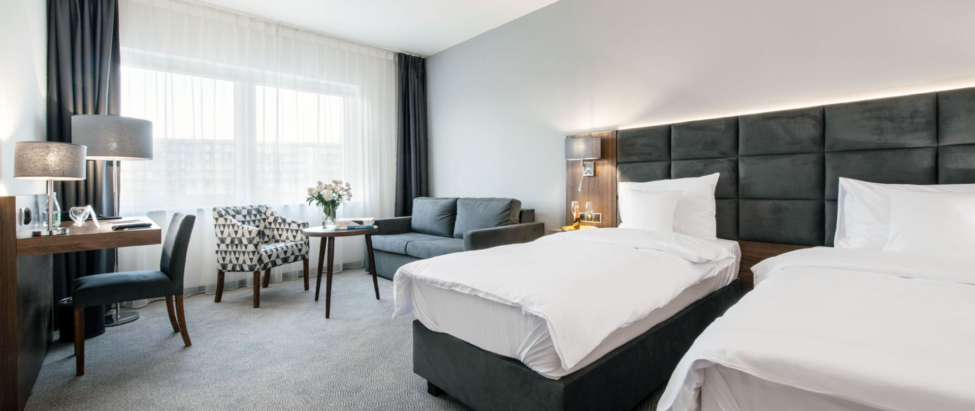 Premium double room with two separate beds