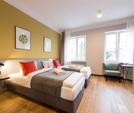 Twin  room - standard with bathroom
