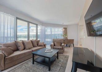 Apartament 410B z dwiema sypialniami (centralny widok na morze)