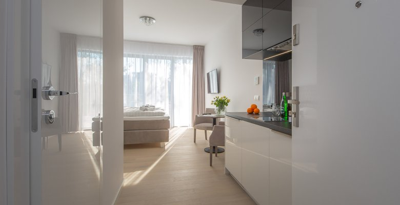 Luxuriöses Studio-Apartment