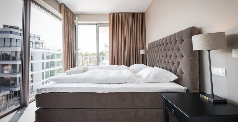 Suite with two bedrooms (sea view)
