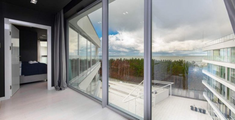 Apartament panoramiczny  411B z jedną sypialnią