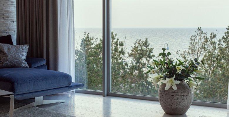 Apartament B317 z dwiema sypialniami (widok na morze)