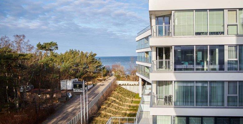 Apartament C315 z dwiema sypialniami (częściowy widok na morze)