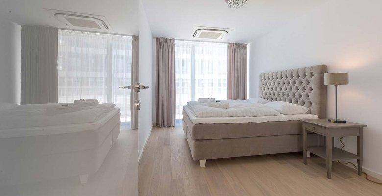 Apartament z dwiema sypialniami Premium