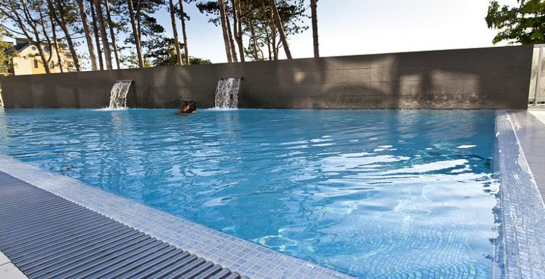 Apartament Studio A120 z wyjściem na basen