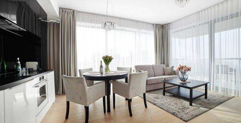 Apartament C414 z dwiema sypialniami (widok na morze)