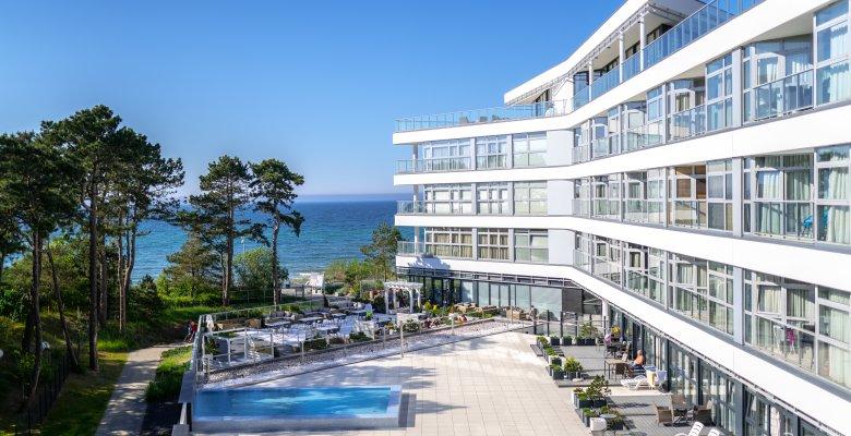 Apartament A312 z dwiema sypialniami (widok na morze)