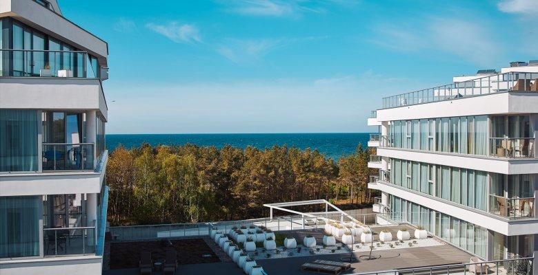 Apartament C401 z jedną sypialnią (widok na morze)