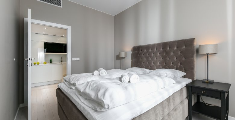 Suite with two bedrooms