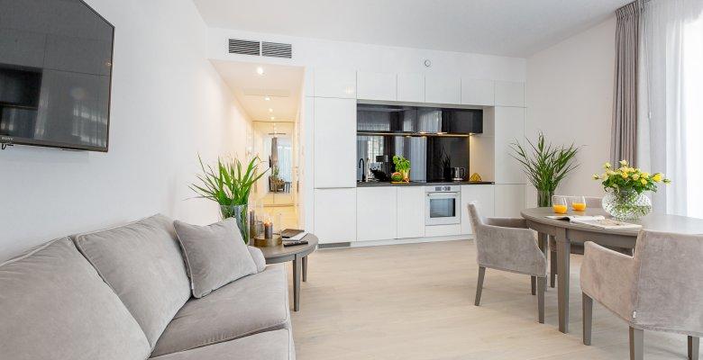 Deluxe Apartment mit 1 Schlafzimmer
