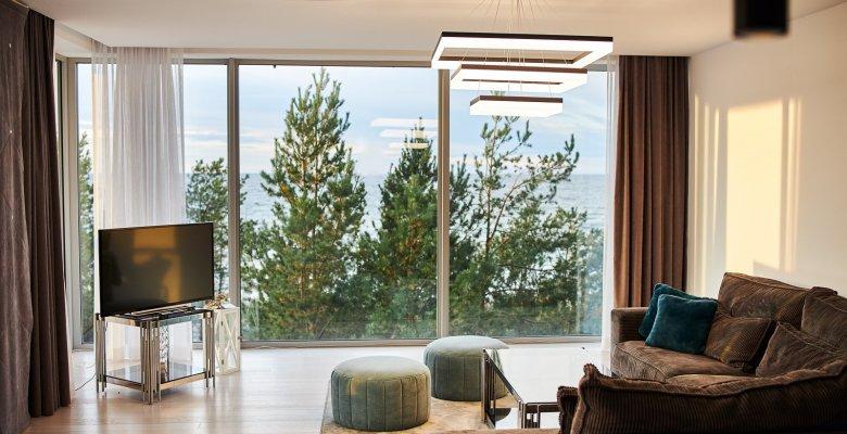 Apartament B316 z dwiema sypialniami (centralny widok na morze)